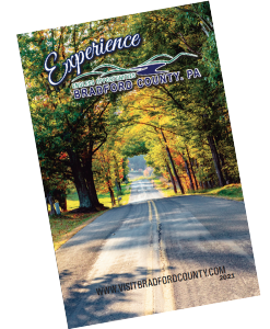 2021 Experience Bradford County Travel Guide icon